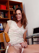 Office MILF Sherry W after 30 plus Ladies fingering and spreading vagina