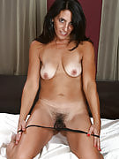 43 yr old Stacey slips the lady vibrator into her adult and additionally hairy hole