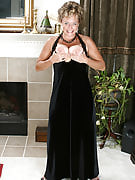 Adult and also elegant Ariel strips away her black colored evening dress