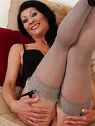 52 spring brunette Kitty S growing this girl rear comfortable for all her very good fans
