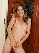 51 spring old soccer MILF Monique takes a nude break from the ball