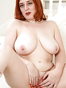 Busty redhead dressed up as ask yourself girl spreads mature rose