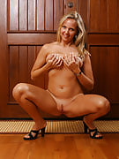 Really hot MILF posing for the digital camera as part of this definitely one