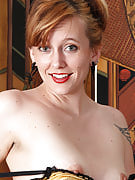 Hot redheaded MILF Alex after 30 plus Ladies growing this girl hairy crotch